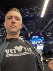 SFC H attended Brooklyn Nets vs. Boston Celtics - NBA - First Round Playoffs! ** Vaccinated Fan Section Only ** on Jun 1st 2021 via VetTix