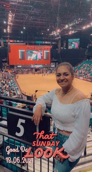 Tania Palma attended Bill Pickett Invitational Rodeo in Association With PBR on Jun 13th 2021 via VetTix