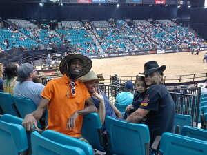 Ms. T attended Bill Pickett Invitational Rodeo in Association With PBR on Jun 13th 2021 via VetTix