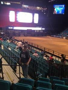 Daniel attended Bill Pickett Invitational Rodeo in Association With PBR on Jun 13th 2021 via VetTix