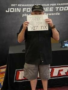 Dan attended Bill Pickett Invitational Rodeo in Association With PBR on Jun 13th 2021 via VetTix