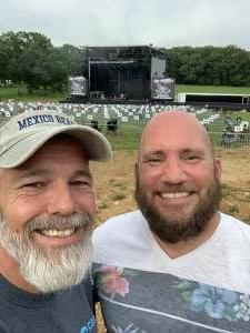 Richard Streck attended Justin Moore on Jun 5th 2021 via VetTix