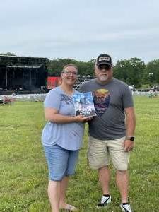 Lori attended Justin Moore on Jun 5th 2021 via VetTix