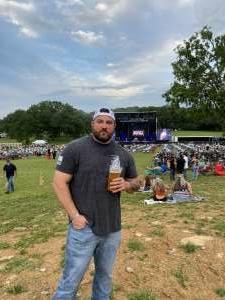 Keith  attended Justin Moore on Jun 5th 2021 via VetTix
