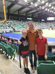 Eddie attended Frisco Fighters vs. Duke City Gladiators: Professional Indoor Football League (IFL) - Frisco Heroes Night on Jun 5th 2021 via VetTix