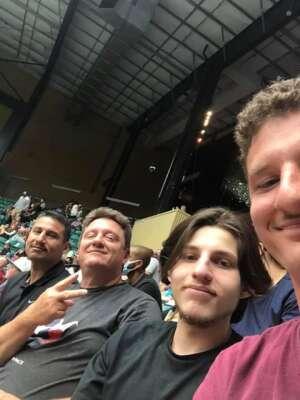 Emmett attended Frisco Fighters vs. Duke City Gladiators: Professional Indoor Football League (IFL) - Frisco Heroes Night on Jun 5th 2021 via VetTix