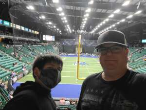 Kevin attended Frisco Fighters vs. Duke City Gladiators: Professional Indoor Football League (IFL) - Frisco Heroes Night on Jun 5th 2021 via VetTix