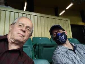 Dennis & Brian attended Frisco Fighters vs. Duke City Gladiators: Professional Indoor Football League (IFL) - Frisco Heroes Night on Jun 5th 2021 via VetTix