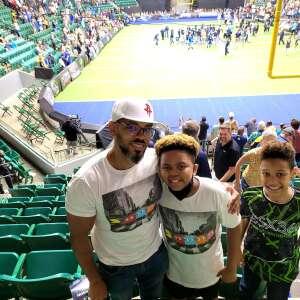 Horace attended Frisco Fighters vs. Duke City Gladiators: Professional Indoor Football League (IFL) - Frisco Heroes Night on Jun 5th 2021 via VetTix