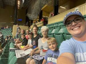Brittany  attended Frisco Fighters vs. Duke City Gladiators: Professional Indoor Football League (IFL) - Frisco Heroes Night on Jun 5th 2021 via VetTix