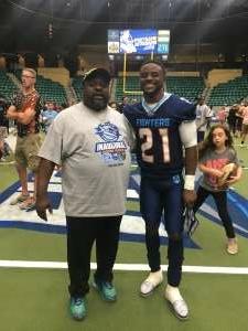Cmack  attended Frisco Fighters vs. Duke City Gladiators: Professional Indoor Football League (IFL) - Frisco Heroes Night on Jun 5th 2021 via VetTix