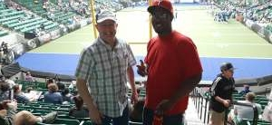 Gregg attended Frisco Fighters vs. Duke City Gladiators: Professional Indoor Football League (IFL) - Frisco Heroes Night on Jun 5th 2021 via VetTix