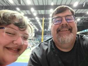 Russ attended Frisco Fighters vs. Duke City Gladiators: Professional Indoor Football League (IFL) - Frisco Heroes Night on Jun 5th 2021 via VetTix