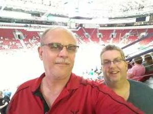 Ken W attended Green Bay Blizzard vs. Iowa Barnstormers - Military Appreciation Night on Jun 25th 2021 via VetTix