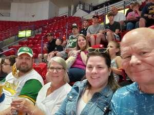 Wendell attended Green Bay Blizzard vs. Iowa Barnstormers - Military Appreciation Night on Jun 25th 2021 via VetTix