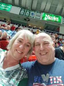 Chris attended Green Bay Blizzard vs. Iowa Barnstormers - Military Appreciation Night on Jun 25th 2021 via VetTix