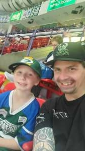 Crew2021 attended Green Bay Blizzard vs. Iowa Barnstormers - Military Appreciation Night on Jun 25th 2021 via VetTix