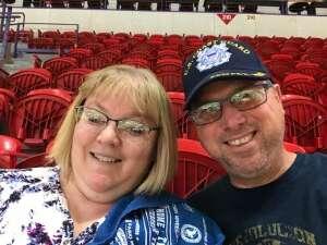 J. Parks attended Green Bay Blizzard vs. Iowa Barnstormers - Military Appreciation Night on Jun 25th 2021 via VetTix