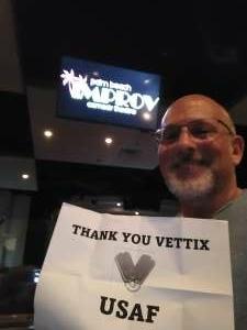 Rick H attended Kevin Farley on Jun 12th 2021 via VetTix