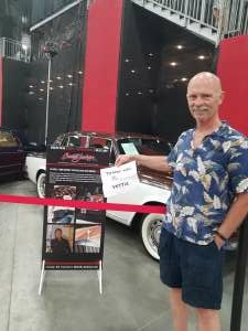 Rob Harburg attended Barrett-jackson 2021 Las Vegas Auction on Jun 17th 2021 via VetTix