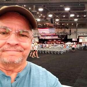Dennis F attended Barrett-jackson 2021 Las Vegas Auction on Jun 17th 2021 via VetTix