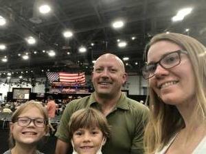 Dave, Beth, Lucy & Scott attended Barrett-jackson 2021 Las Vegas Auction on Jun 17th 2021 via VetTix
