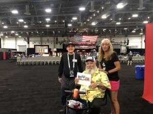 Terry Dikeman attended Barrett-jackson 2021 Las Vegas Auction on Jun 17th 2021 via VetTix