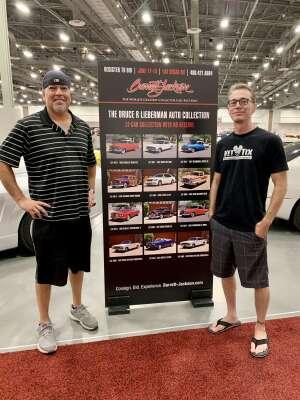 Tim H attended Barrett-jackson 2021 Las Vegas Auction on Jun 17th 2021 via VetTix