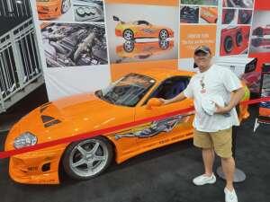 Al attended Barrett-jackson 2021 Las Vegas Auction on Jun 17th 2021 via VetTix