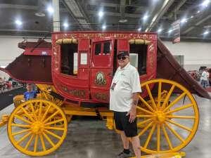 Big John attended Barrett-jackson 2021 Las Vegas Auction on Jun 17th 2021 via VetTix