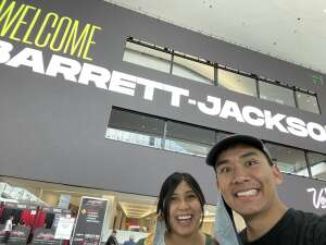Alan Nguyen attended Barrett-jackson 2021 Las Vegas Auction on Jun 18th 2021 via VetTix