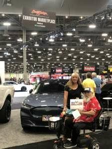 Terry Dikeman attended Barrett-jackson 2021 Las Vegas Auction on Jun 18th 2021 via VetTix