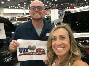 Mike attended Barrett-jackson 2021 Las Vegas Auction on Jun 18th 2021 via VetTix