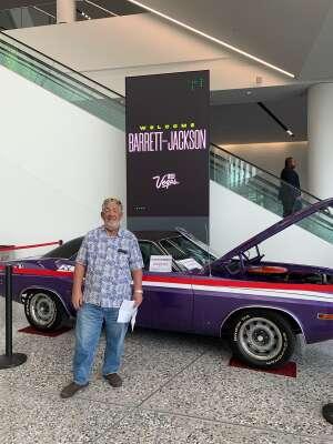 Steve attended Barrett-jackson 2021 Las Vegas Auction on Jun 18th 2021 via VetTix