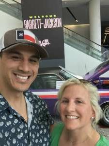 Robert & Jessica attended Barrett-jackson 2021 Las Vegas Auction on Jun 19th 2021 via VetTix