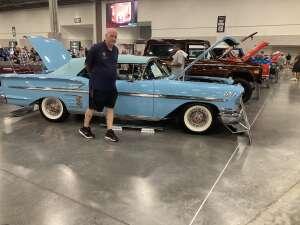 Dace attended Barrett-jackson 2021 Las Vegas Auction on Jun 19th 2021 via VetTix