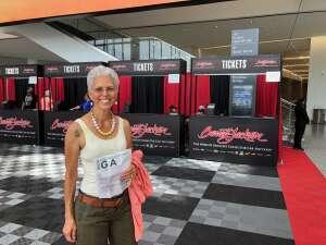 Binks attended Barrett-jackson 2021 Las Vegas Auction on Jun 19th 2021 via VetTix