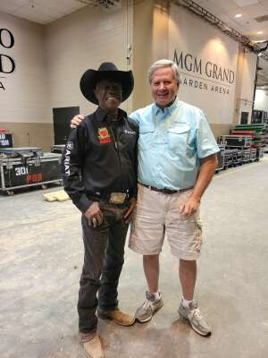 E Adams  attended Barrett-jackson 2021 Las Vegas Auction on Jun 19th 2021 via VetTix