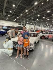 Aaron Starks attended Barrett-jackson 2021 Las Vegas Auction on Jun 19th 2021 via VetTix