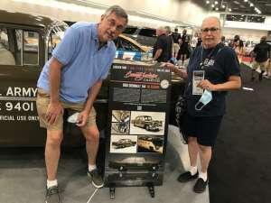 JD attended Barrett-jackson 2021 Las Vegas Auction on Jun 19th 2021 via VetTix