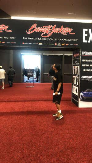 BernardJr  attended Barrett-jackson 2021 Las Vegas Auction on Jun 19th 2021 via VetTix
