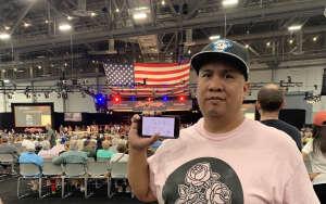 Rad attended Barrett-jackson 2021 Las Vegas Auction on Jun 19th 2021 via VetTix