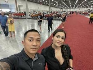 Julious attended Barrett-jackson 2021 Las Vegas Auction on Jun 19th 2021 via VetTix