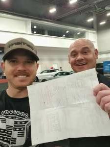 Chris attended Barrett-jackson 2021 Las Vegas Auction on Jun 19th 2021 via VetTix