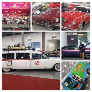 Tinker attended Barrett-jackson 2021 Las Vegas Auction on Jun 19th 2021 via VetTix