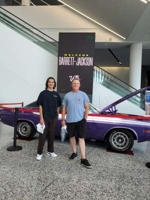 Jim attended Barrett-jackson 2021 Las Vegas Auction on Jun 19th 2021 via VetTix