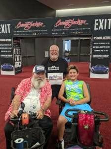 Ray Jason attended Barrett-jackson 2021 Las Vegas Auction on Jun 19th 2021 via VetTix