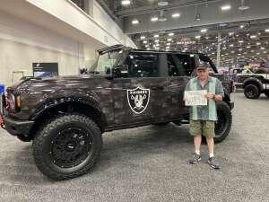 Dan attended Barrett-jackson 2021 Las Vegas Auction on Jun 19th 2021 via VetTix