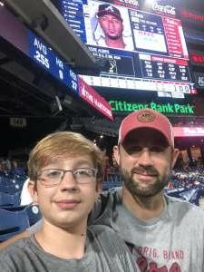 Jeff  attended Philadelphia Phillies vs. Atlanta Braves - MLB on Jun 8th 2021 via VetTix