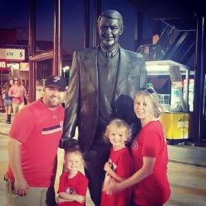 Jeffrey foster  attended Philadelphia Phillies vs. Atlanta Braves - MLB on Jun 8th 2021 via VetTix